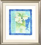 Lilies Print by Franz Heigl