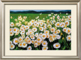 I Love Daisies Art by Liliane Fournier