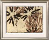 Tawny Floral IV Limited Edition Framed Print by Jennifer Goldberger