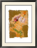 Abstract Roses I Prints by Michel Lafontaine