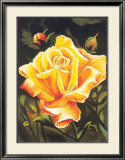 The Golden Flower Posters by N. Fiore