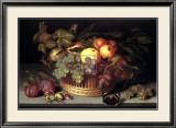Fruit Basket Prints by Johannes Bosschaert