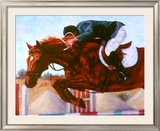 Up and Over Framed Giclee Print by Stacy Maeda