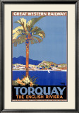 Torquay/Great Western Railway Framed Giclee Print by William A. Sennet