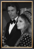Clint Eastwood and Barbara Streisand Print