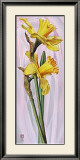 Two Yellow Daffodils Poster by Maya Nishiyama