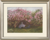 Resting Under the Lilac Prints by Claude Monet