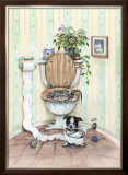 Partners in Crime Framed Giclee Print by Gary Patterson