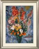 Bouquet de Fleurs Poster by Marc Chagall