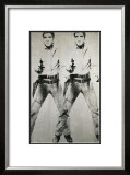 Double Elvis, c.1963 Art by Andy Warhol