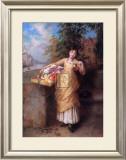The Flower Seller Prints by Augustus Mulready