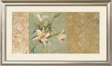 Garden of Damask Lilies Posters by Matina Theodosiou