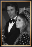 Clint Eastwood and Barbara Streisand Prints