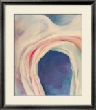 Music Pink and Blue no. 1 Print by Georgia O'Keeffe