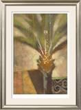 Artist Palm II Limited Edition Framed Print by  Cruz