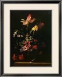 Bouquet de Fleurs Print by Jean-michel Picart