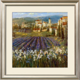 Provencal Village Print by Michael Longo