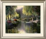 Willow Park Lake Art by T. C. Chiu