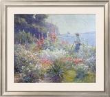 Mrs. Mayer's Garden Prints by Abbott Fuller Graves
