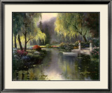 Willow Park Lake Posters by T. C. Chiu