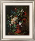 Flowers in an Urn Art by Jan van Huysum
