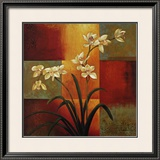 White Orchid Prints by Jill Deveraux