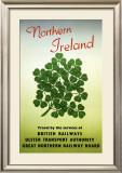 Northern Ireland, British Rail, c.1955 Framed Giclee Print