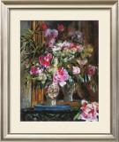 Vase with Bunch of Flowers, 1871 Prints by Pierre-Auguste Renoir