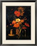 Bouquet de Fleurs Posters by Maria Van Oosterwyck