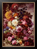 Grandmother's Bouquet II Poster by Joseph Nigg