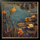 Tiger Lilies Prints by Donna Norine Schuster
