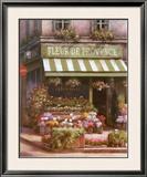 Fleurs de Provence Poster by T. C. Chiu