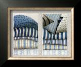 Les Tissus Bleus Prints by Babey Zographos