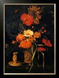 Bouquet de Fleurs Prints by Maria Van Oosterwyck