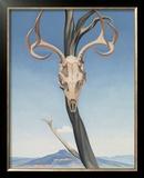 Deer's Skull with Pedernal Posters by Georgia O'Keeffe