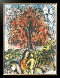 Sainte Famille Prints by Marc Chagall