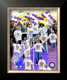 Los Angeles Lakers 2009 NBA Championship Victory Parade Framed Photographic Print