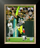 Aaron Rodgers 2009 Framed Photographic Print