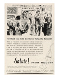 Hoover Advert Giclee Print