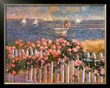 Hyannis Port Roses Prints by Sam Barber