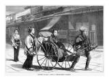Japanese Rickshaw Giclee Print