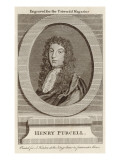 Henry Purcell English Composer Giclee Print