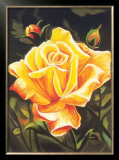 The Golden Flower Poster by N. Fiore