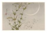 Japanese Print - Moon Giclee Print by Robert Gillmor