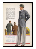 Jacket and Trousers 1939 Giclee Print