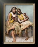 Hawaiian Beauties Framed Giclee Print