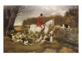 Huntsmen and Hounds Giclee Print