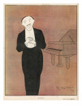 Fragson French Pianist Giclee Print