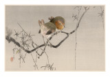 Japanese Print - Robins Giclee Print by Robert Gillmor