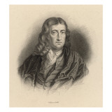 John Milton English Poet and Puritan in Middle Age Giclee Print